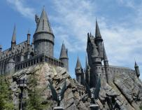 El castillo de Hogwarts.