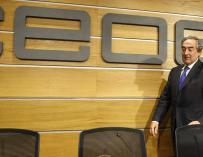Juan Rosell paga caro sus tropiezos y cuenta los meses para abandonar la CEOE