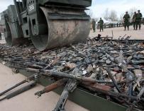 La venta de armas alcanza un nivel récord desde la Guerra Fría