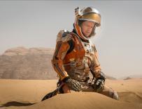 Fotograma de 'El Marciano', película protagonizada por Matt Damon.