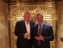 Donald Trump y Nigel Farage, ex líder del UKIP. Twitter