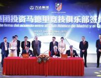 El magnate chino Wang Jianlin compra el 20 por ciento de Atlético por 45 millones de euros