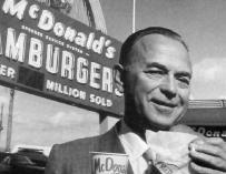 El empresario Ray Krock.