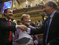 Solbes y ZP en su etapa de Gobierno