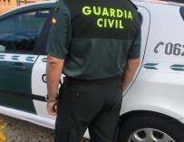 Fotografía de un agente de Guardia Civil.