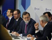 Mariano Rajoy preside la Junta Directiva Nacional del PP