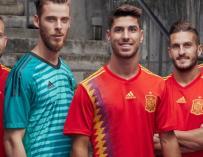 Camiseta de la selección española para el Mundial de Rusia 2018