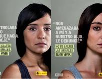 Campaña contra la violencia machista.