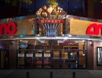 Imagen de una sala de cine del grupo AMC.