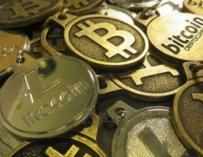 Bitcoins.