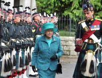 Fotografía de Isabel II, la reina de Inglaterra.
