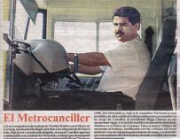 Recorte del periódico 'El Nuevo Día' sobre el vicepresidente Nicolas Maduro