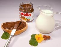 Fotografía de un frasco de Nutella.