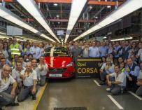 Motín en la planta de Opel en Figueruelas por 3 minutos de bocadillo... y el sueldo