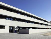 Fotografía del colegio Juan Pablo II de Alcorcón.