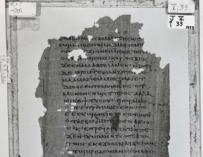 Fotografía de la primera copia original de las enseñanzas secretas de Jesús a su hermano.