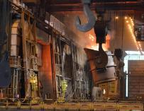 Instalaciones de la empresa ArcelorMittal.