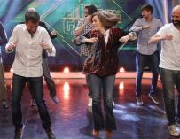Soraya baila en El Hormiguero