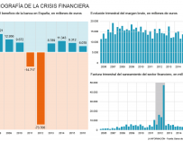 Radiografía del sector bancario durante la crisis