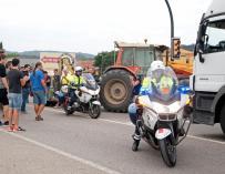 Huelga general en Girona