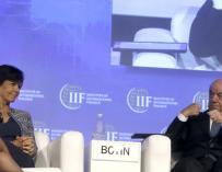 Ana Botín y Francisco González