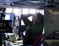 Fotografía del cierre de Bolsa de Wall Street, Dow Jones, 6 de febrero de 2018