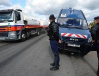 """Miles de camiones vuelven a protestar en Francia en contra de la """"ecotasa"""""""