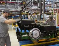 La producción de vehículos crece un 5,5 por ciento al cierre del primer semestre