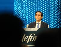 Imagen del presidente de Telefónica, José María Álvarez-Pallete.