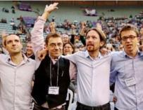 El núcleo fundador de Podemos