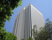 Imagen de la Torre Picasso, sede de Deloitte.
