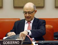 El ministro de Hacienda, Cristóbal Montoro.