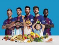 Imagen de la campaña 'See how you can Eat Like A Pro' de Beko