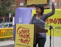 """Anna Gabriel (CUP) plantea tener hijos en colectivo y que los eduque """"la tribu"""""""