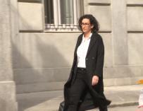 Marta Rovira sale del TS con libertad bajo fianza