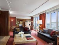 Fotografía del Royal Penthouse del Hôtel Président Wilson en Ginebra (Suiza).