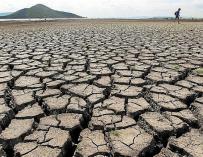 Imagen de la sequía en España.
