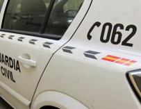 Fotografía de un vehículo de la Guardia Civil.
