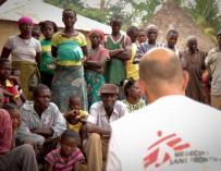 Imagen de los trabajos de Médicos sin Fronteras en África