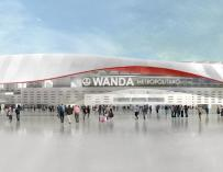 El Wanda Metropolitano y otros estadios de fútbol que cedieron su 'naming right'.