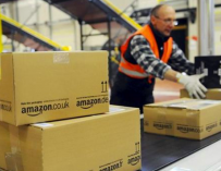 Denuncian condiciones abusivas de trabajo en Amazon de Reino Unido