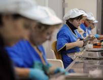 Mujeres trabajadoras.