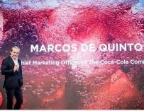 Marcos de Quinto deja Coca Cola después de 35 años