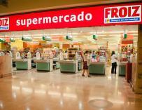 Imagen de un supermercado de la cadena Froiz.