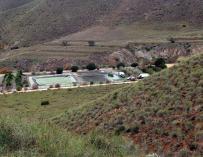 Paraje de Las Hortichuelas, en Níjar