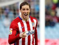 Imagen del futbolista Fernando Torres.