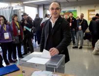 Jordi Turull en las elecciones del 21-D