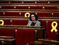 Marta Rovira en el Parlament