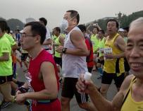 Un ciudadano chino contrata a un doble para un maratón y este muere en la carrera