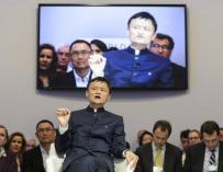 El presidente ejecutivo del grupo chino Alibaba, Jack Ma. EFE/Archivo